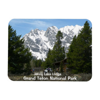 Jenny Lake Grand Teton National Park Magnet
