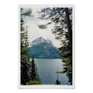 Jenny Lake / Grand Teton National Park Poster