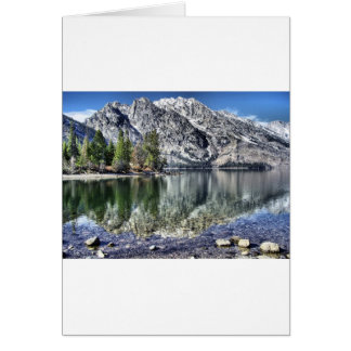 Jenny Lake Reflection Card