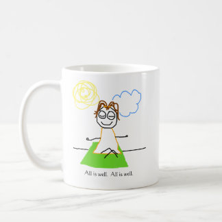 jenny quips:  all is well coffee mug