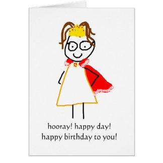 jenny quips:  happy birthday! card