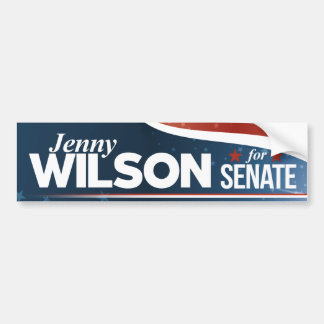 Jenny Wilson for Senate Bumper Sticker