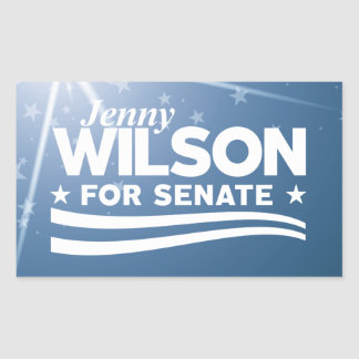 Jenny Wilson for Senate Sticker