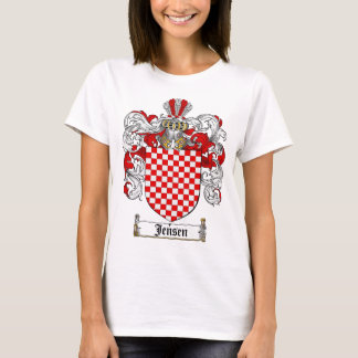 JENSEN FAMILY CREST -  JENSEN COAT OF ARMS T-Shirt