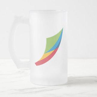 Jeollabuk-do Frosted Glass Beer Mug