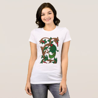 Jepara Carving Motif T-Shirt