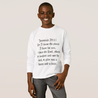 Jeremiah 29:11 Blessing Shirt
