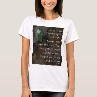 Jeremiah 29:11 hope for the future T-Shirt
