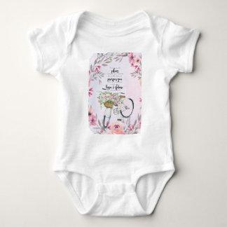 Jeremiah 29:11 Inspirational Bicycle Baby Bodysuit