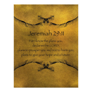 Jeremiah 29:11 letterhead template