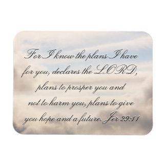 Jeremiah 29:11 magnet