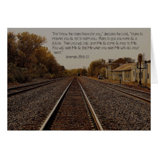 Jeremiah 29:11 Note Cards
