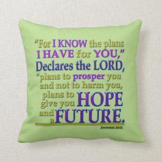Jeremiah 29:11 Pillow