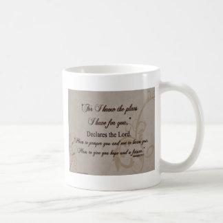 Jeremiah 29:11 Scripture Gift Coffee Mug