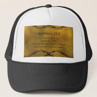 Jeremiah 29:11 trucker hat