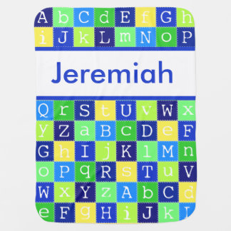 Jeremiah's Personalized Blanket