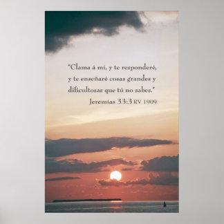 Jeremias 33:3 poster
