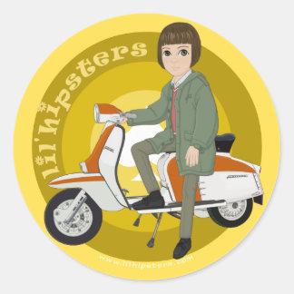 Jeremy Classic Round Sticker