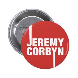Jeremy Corbyn Button Badge Labour Party Leader
