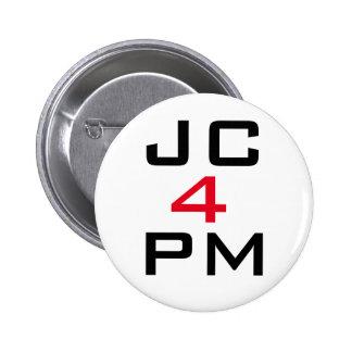"Jeremy Corbyn ""JC For PM"" Button Badge"