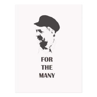 Jeremy Corbyn postcard