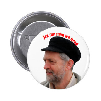 Jeremy Corbyn supporter Jez the man we need badge 2 Inch Round Button