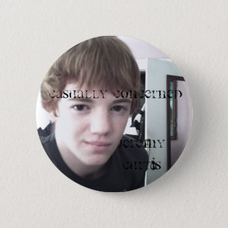 Jeremy Curtis 2 Inch Round Button