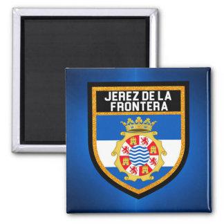 Jerez de la Frontera Flag Magnet