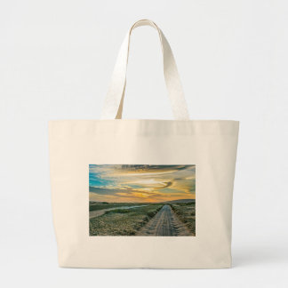 Jericoacoara National Park Dunes Road Large Tote Bag