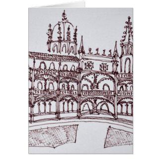 Jeronimos Monastery Cloister | Lisbon, Portugal Card