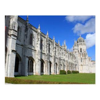 Jeronimos Monastery in Belem, Lisbon, Portugal Postcard