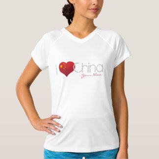JERRILLA Design Custom Dry T-shirt I love China