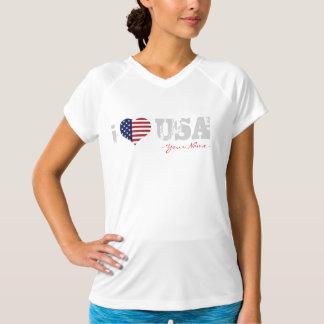 JERRILLA Design Custom sport T-shirt I the love