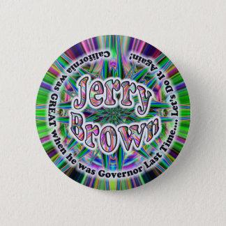 Jerry Brown 4 GOV button