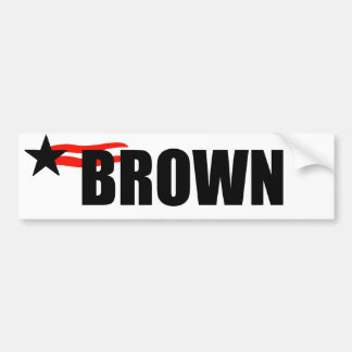 JERRY BROWN BUMPER STICKER