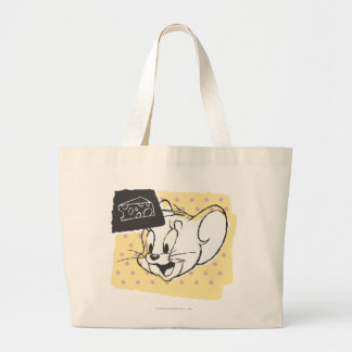 Jerry Cheese Large Tote Bag