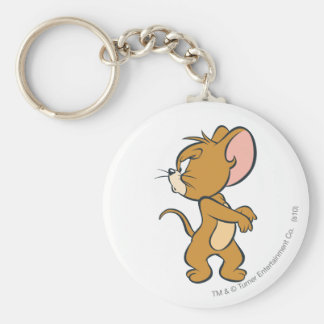 Jerry Looking Back Annoyed Keychain