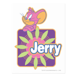 Jerry Neon Mouse Postcard