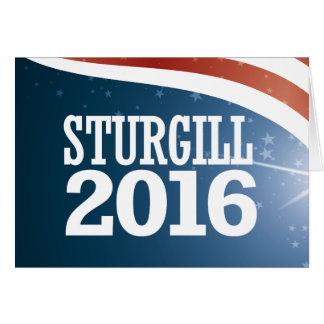 Jerry Sturgill 2016 Card