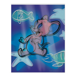 Jerry Trippy Fish Poster
