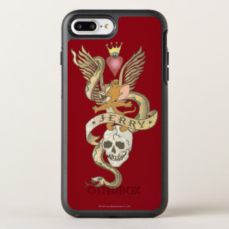 Jerry Twisted Tattoo 2 OtterBox Symmetry iPhone 7 Plus Case