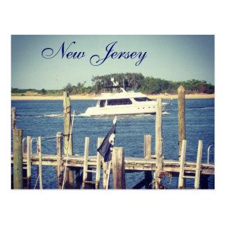Jersey Boats Postcard