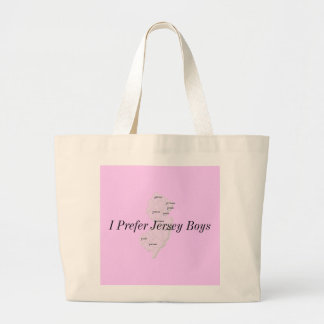 Jersey Boys Large Tote Bag