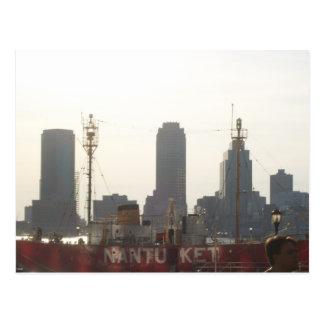 Jersey City as seen from Manhattan Postcard
