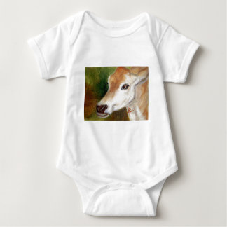 Jersey Cow aceo Infant Creeper