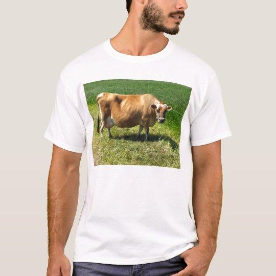 Jersey cow at St John T-Shirt