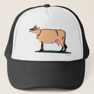 Jersey Cow (dark) Trucker Hat
