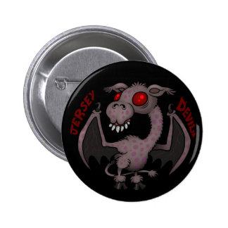 Jersey Devil Pinback Button