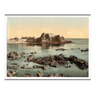 Jersey, Elizabeth Castle, St. Heliers, Channel Isl Postcard