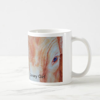 Jersey Girl by Janet Means Belich, Jersey Girl Classic White Coffee Mug